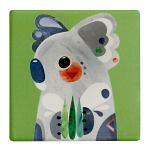 Maxwell & Williams Pete Cromer Ceramic Coaster - Koala 9.5cm