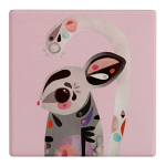 Maxwell & Williams Pete Cromer Ceramic Coaster - Sugar Glider 9.5cm