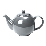 London Pottery Globe Teapot 2 Cup Silver Finish