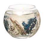 Stoneglow Candles Vetivert & Blue Spruce Natural Wax Fishbowl