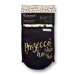 Cooksmart Prosecco Ho Ho Ho Double Oven Gloves