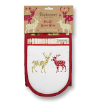 Cooksmart Highland Stag Double Oven Gloves