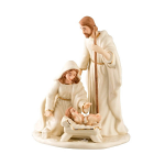 Belleek Living Classic Christmas - Nativity Family - Small