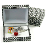 3 Piece Cricket Cufflinks