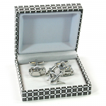 3 Piece Travel Cufflinks
