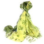 Nature Patchwork Scarf - Green