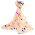Multi Coloured Flamingo Scarf - Pink