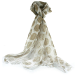 Changing Spots Scarf - Taupe