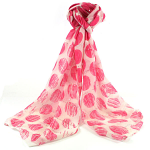 Changing Spots Scarf - Pink