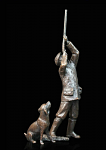 Bronze Last Drive Hunter and Dog - Limited Edition of 250