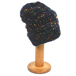 Beanie style Hat with Cosy Lining - Navy Blue