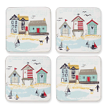 Cooksmart - Beside the Seaside Coasters - Set of 4