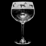 Animo Glass - Galloping Horses Gin Balloon Glass