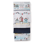 Cooksmart - Beside the Seaside Tea Towels - Set of 3