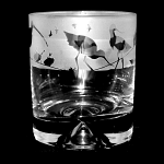 Animo Glass - Wading Birds Whisky Tumbler