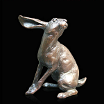 Bronze Hare Listening Small Size Limited Edition 350