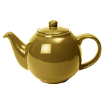 London Pottery Globe Teapot 4 Cup Gold Finish