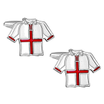 England Football Shirt Cufflinks