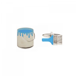 Paint Tin & Brush Cufflinks Rhodium Plated