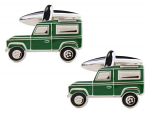 Landrover Green Cufflinks
