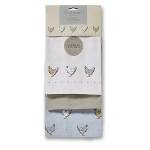 Cooksmart Farmers Kitchen - Tea Towels - Set of 3