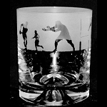 Animo Glass - Rugby Scene Whisky Tumbler