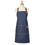 Cooksmart Oxford Vintage Denim Apron