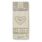 Cooksmart - Woodland Tea Towels - Set of 3
