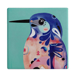 Maxwell & Williams Pete Cromer Ceramic Coaster - Kingfisher 9.5cm