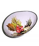 Meg Hawkins Holly Oval Bowl Small 16cm