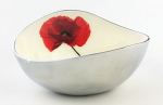 Meg Hawkins Poppy Oval Bowl 18cm