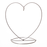 Amelia Art Glass Friendship Ball Stand - Heart