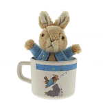 Beatrix Potter - Peter Rabbit Organic Mug & Soft Toy Gift Set