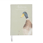 Wrendale Designs - Address & Birthday Book (Duck)