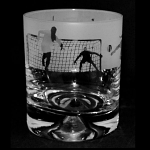 Animo Glass - Football Scene Whisky Tumbler