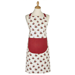 Cooksmart Christmas Red Red Robin Apron