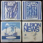West Bromwich Albion Football Club Vintage Coasters