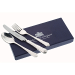 Arthur Price Silver Plated Ritz Design Childrens 3 Piece Cutlery Gift Box Set