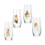 Royal Worcester Wrendale Designs - Tumbler Hi Ball - Country Animals Set of 4