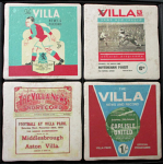 Aston Villa Football Club Vintage Coasters