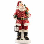 Aynsley Santa with Lantern 30in or 75cm Tall