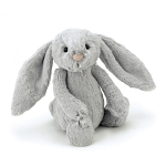 Jellycat Bashful Silver Bunny Really Really Big 108cm