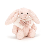 Jellycat Bashful Blush Snow Bunny Small 18cm