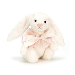 Jellycat Bashful Cream Snow Bunny Small 18cm