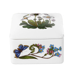 Portmeirion Botanic Garden Square Trinket Box 9.5cm / 3.5 inch Boxed