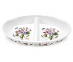 Portmeirion Botanic Garden Divided Dish 28cm 11in Sweet Pea