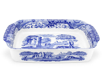 Spode Blue Italian - Rectangular Handled Dish