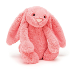 Jellycat Bashful Coral Bunny Small 18cm