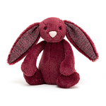 Jellycat Bashful Sparkly Cassis Bunny Small 18cm