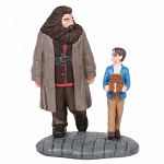 Basic Wizard Supplies Harry Potter and Hagrid Figurine